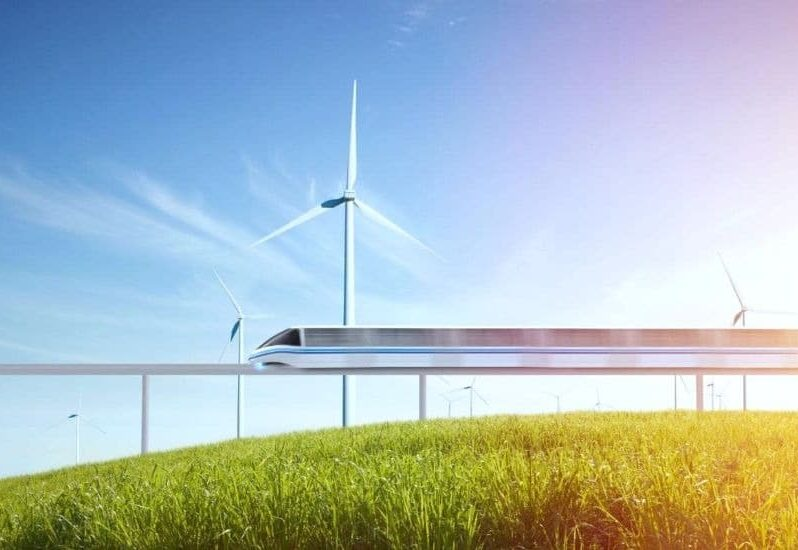 sustainable energy clean transport electric vehicles zero-emission trains Innova